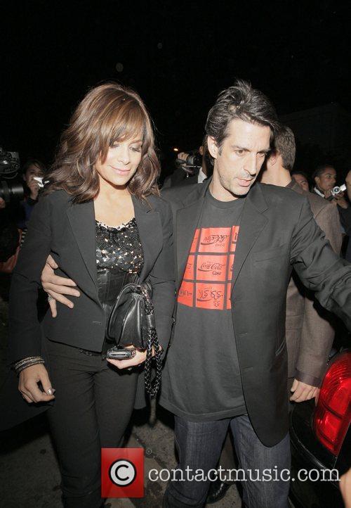 Paula Abdul and friend arrive at STK restaurant...