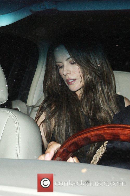 Kate Beckinsale leaving STK restaurant