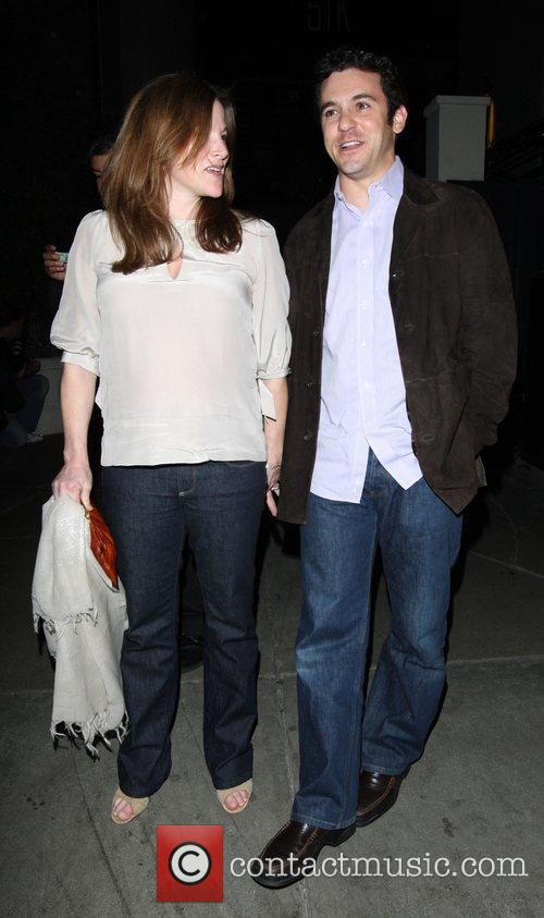 Fred Savage and pregnant wife Jennifer Lynn Stone 2