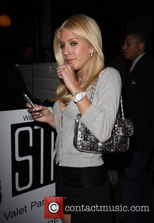 Heidi Montag leaving STK restaurant Hollywood, California