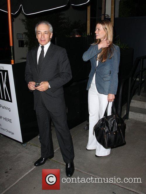 Mark Vincent Kaplan leaving STK restaurant Hollywood, California