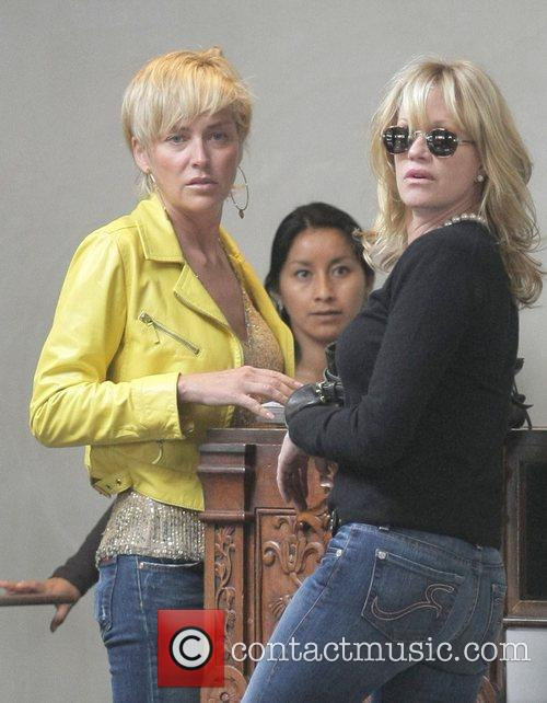 Sharon Stone and Melanie Griffith 2