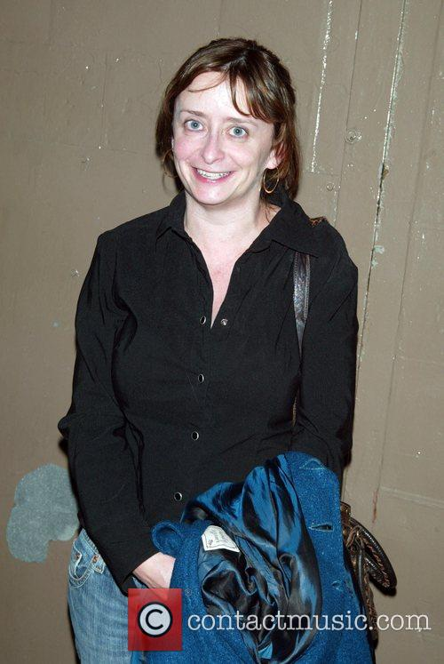 Rachel Dratch Backstage at the Broadway musical 'Passing...