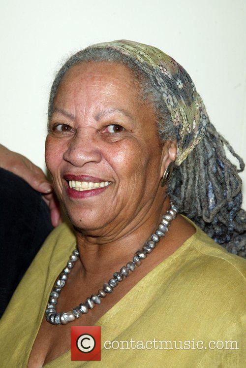 Toni Morrison Backstage at the Broadway musical 'Passing...