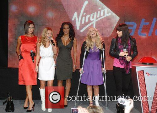 Spice Girls, Geri Halliwell, Las Vegas, Emma Bunton, The Spice Girls, Thursday and Virgin 2