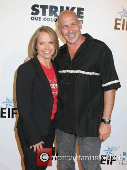 Katie Couric and Carmen Marc Valvo 'Strike Out...