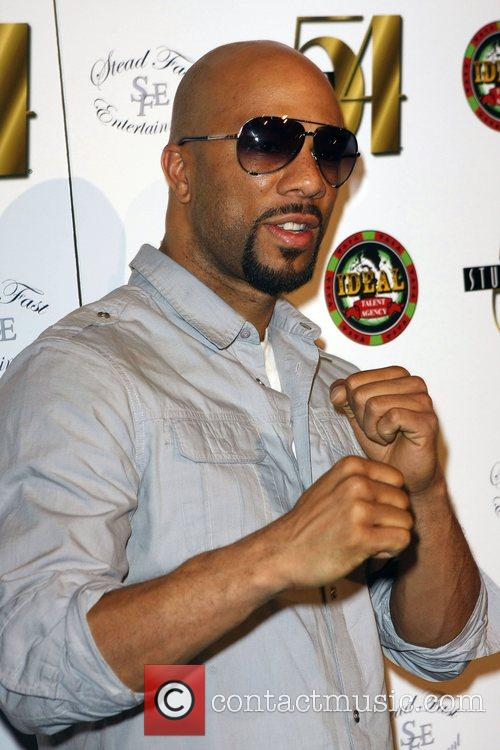 Common performs at Studio 54's After-Fight Party hosted...
