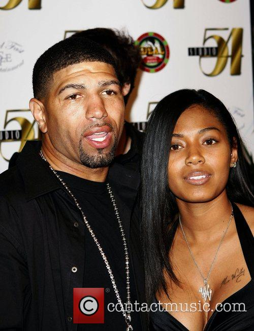 Winky Wright and Sayquana Pie Barney Common performs...