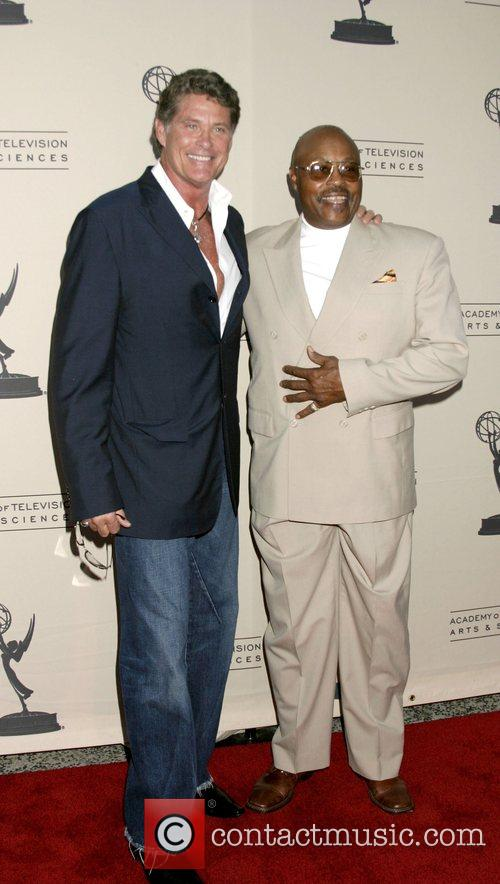 David Hasselhoff and Roger Mosely Academy of TV...