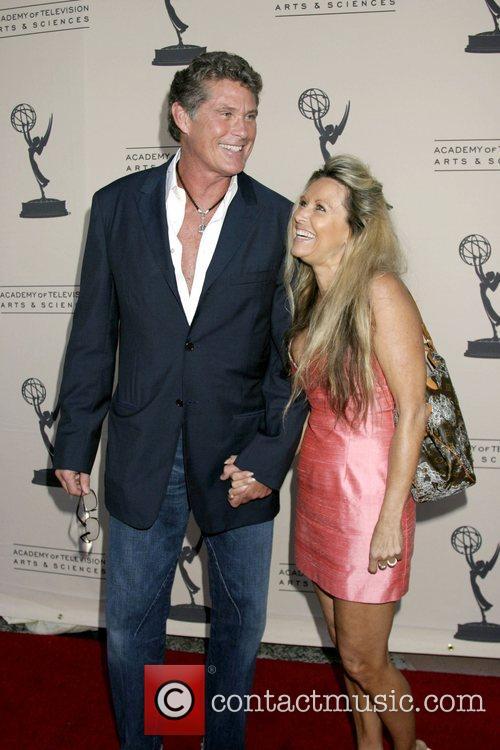 David Hasselhoff & Michele Lilley Academy of TV...