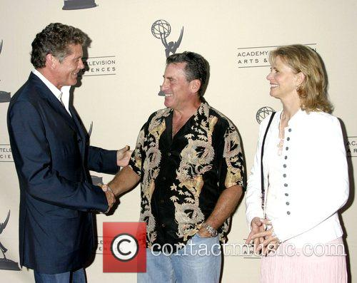 David Hasselhoff, Paul Michael Glaser and Lindsay Wagner...