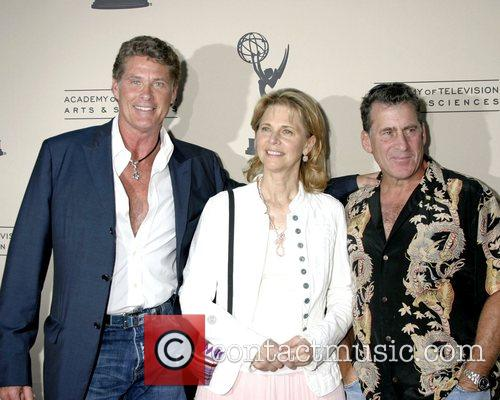 David Hasselhoff, Lindsay Wagner and Paul Michael Glaser...