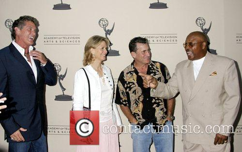 David Hasselhoff, Lindsay Wagner, Paul Michael Glaser and...