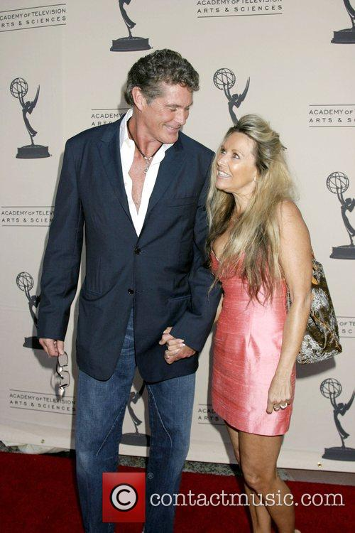 David Hasselhoff and Michele Lilley Academy of TV...