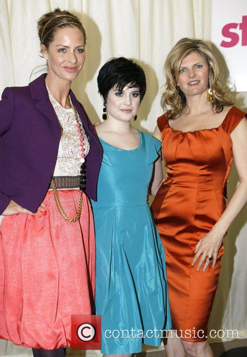 Kelly Osbourne with Trinny woodall and Susannah Constantine...