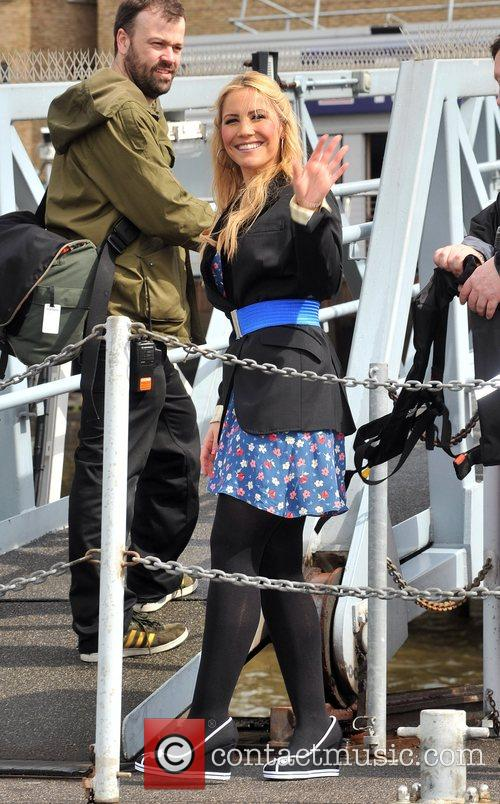 Heidi Range Sugababes on the Thames - photocall...
