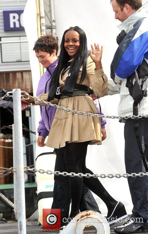 Keisha Buchanan Sugababes on the Thames - photocall...