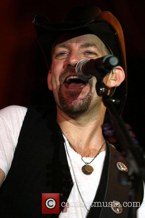 Kristian Bush Sugarland perform at the Fremont Street...