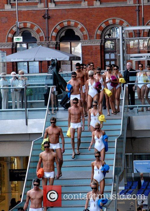 30 male and female models from tanning brand...
