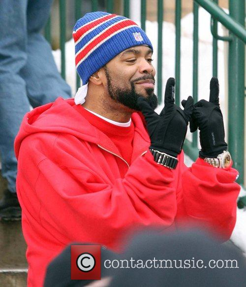 Method Man  leaving the Town Lift During...
