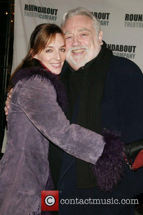 Julia Murney & Ed Dixon Opening Night afterparty...
