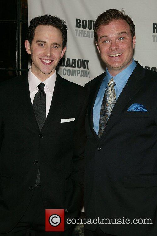 Santino Fontana & Drew McVety Opening Night afterparty...