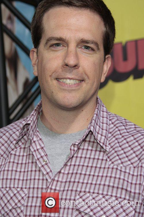 Ed Helms Premiere of 'superbad', held at the...