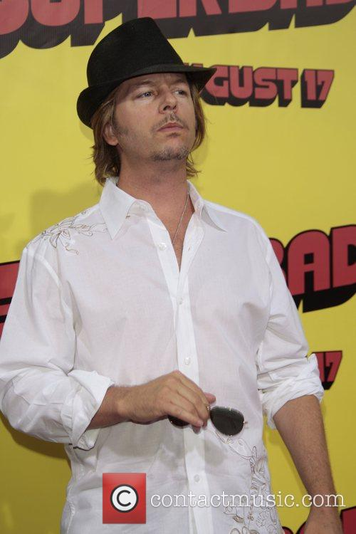 David Spade Premiere of 'superbad', held at the...
