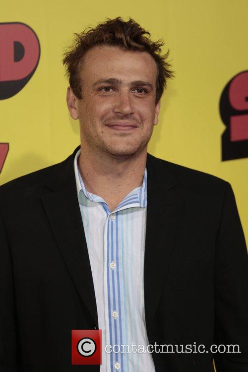 Jason Segel Premiere of 'superbad', held at the...