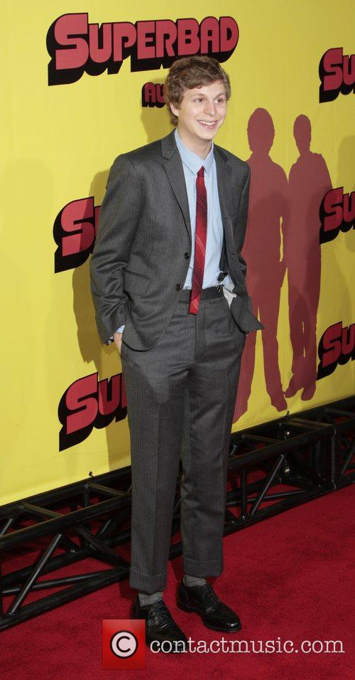 Michael Cera Premiere of 'superbad', held at the...