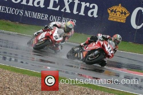 Troy Corser and Troy Bayliss SuperBikes World Championship...