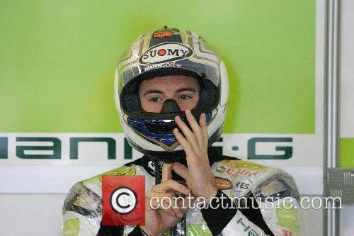James Toseland SuperBikes World Championship at Silverstone Circuit...