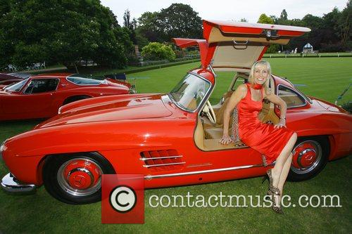 Mercedes 300SL Gullwing Salon Prive private luxury and...