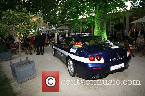 Ferrari Fiorano police car Salon Prive private luxury...