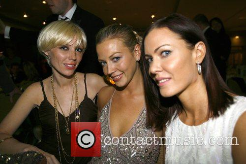 Charlotte Dutton, Liz Fuller and Linzi Stoppard Salon...