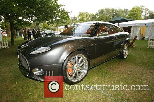 Spyker Salon Prive private luxury and supercar show...