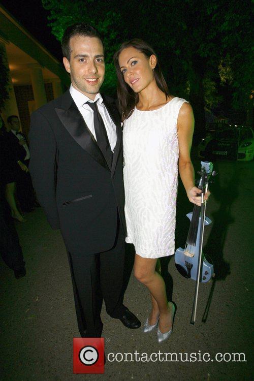 Linzi Stoppard and husband Salon Prive private luxury...