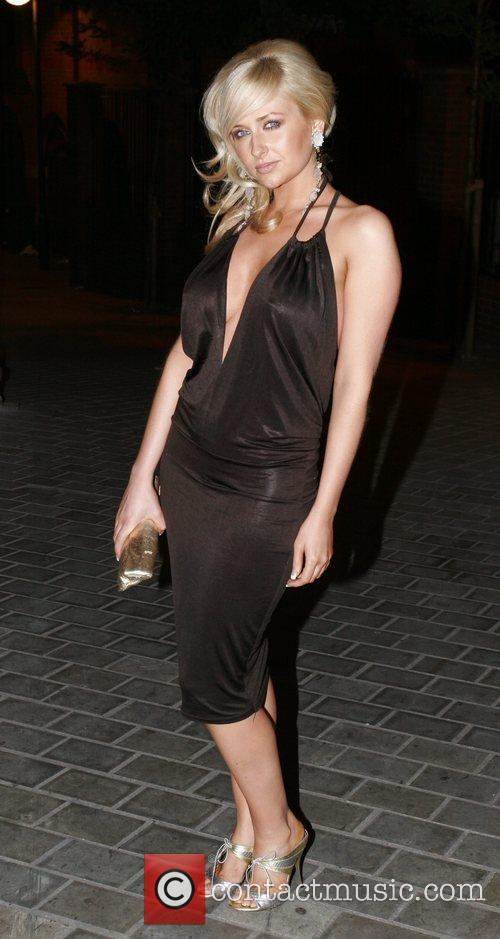 Gemma Merna arrive at the Superna Bar Leeds,...