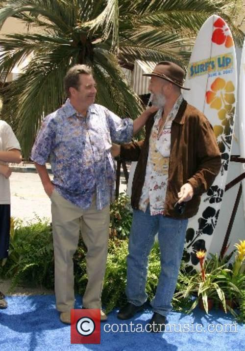 Beau Bridges and Jeff Bridges Premiere of 'Surfs...