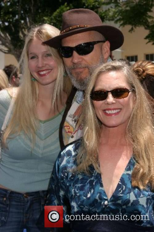 Jeff Bridges with his wife Susan Geston and...