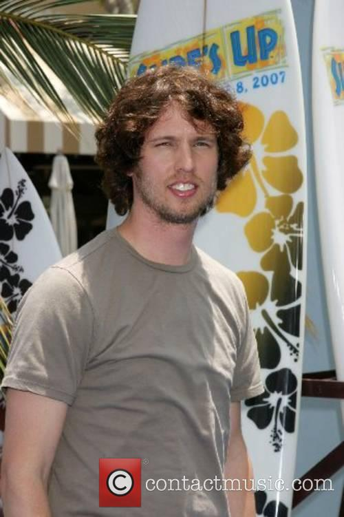 Jon Heder Premiere of 'Surfs Up' - Arrivals...