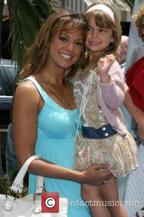 Eva LaRue and daughter Kaya McKenna Callahan Premiere...