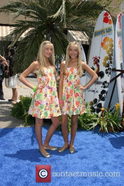 Rebecca Rosso and Camilla Rosso Premiere of 'Surfs...
