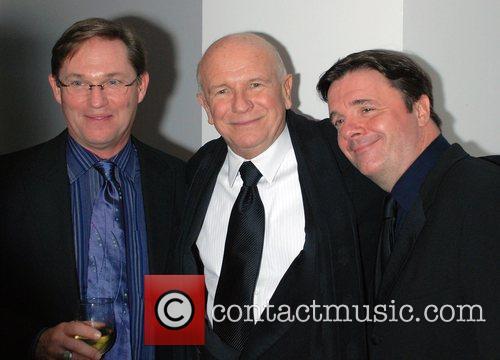 Richard Thomas, Terrence Mcnally and Nathan Lane