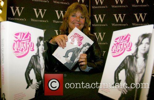Suzi Quatro book signing of ' Suzi Quatro...