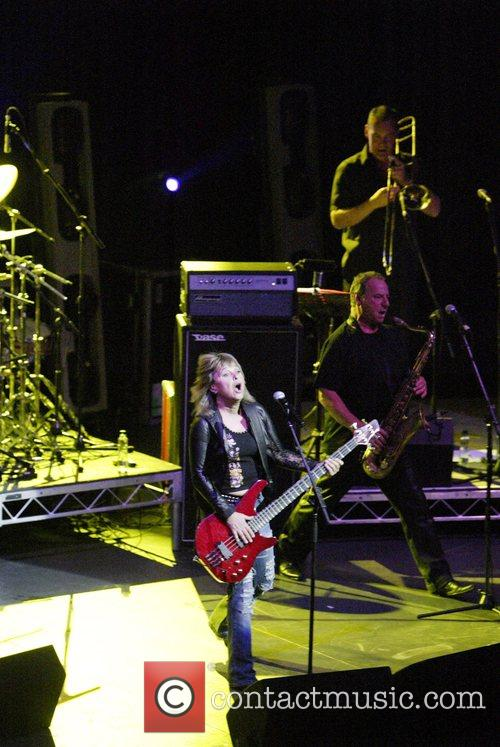 Suzi Quatro performing live in concert at the...
