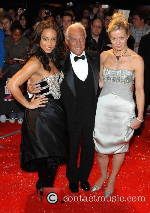 Alicia Keys, Giorgio Armani, Lady Helen Taylor, Fashion Rocks