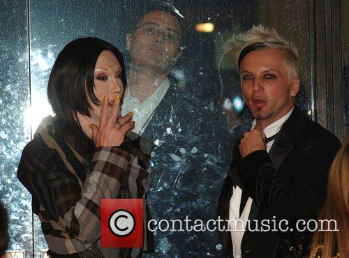 Pete Burns and Michael Simpson 4