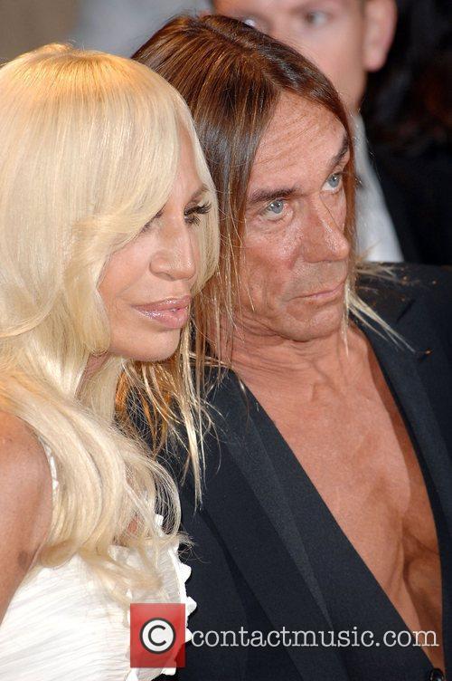 Iggy Pop and Donatella Versace 1