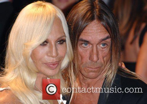 Iggy Pop and Donatella Versace 3